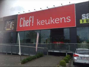 Chef keukens schoten